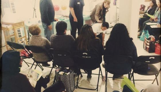 Shelli teaches Bible Safari Course in Mexico City!